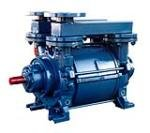 Single stage liquid ring vacuum pumps for low, medium and high vacuum