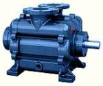 Monostage liquid ring vacuum pumps for high, medium and high vacuum